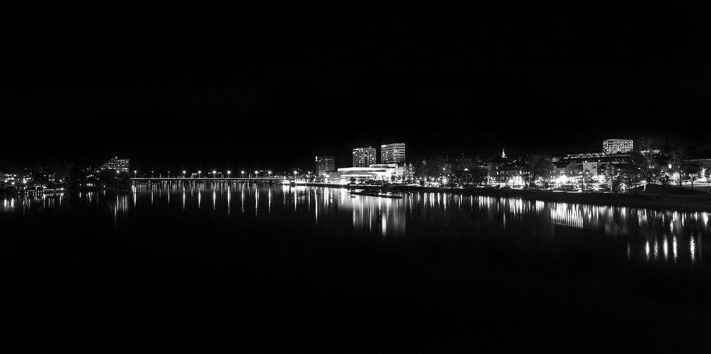 Natt över Väven och Umeälven